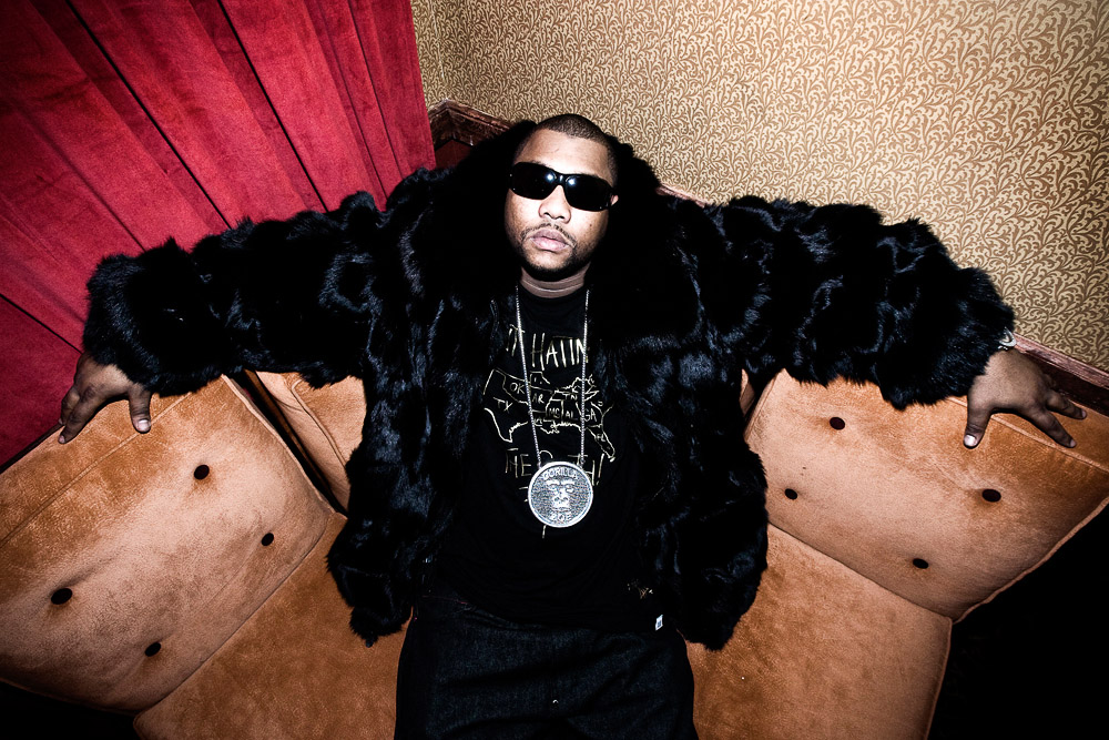 Gorilla Zoe, hip-hop artist. Atlanta, GA