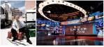 Lou Dobbs, news anchor. Cancun, MX / Wolf Blitzer, news anchor. New York City