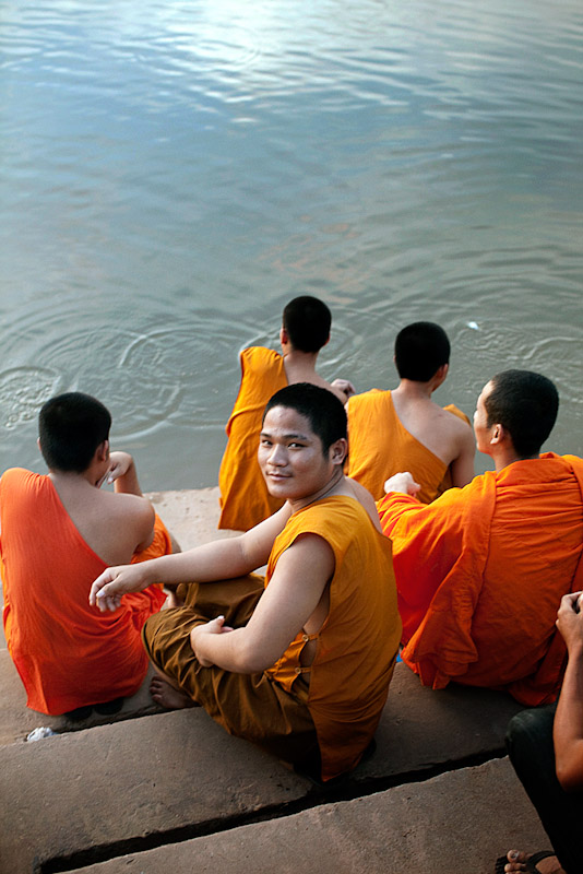 Monks, Pakse