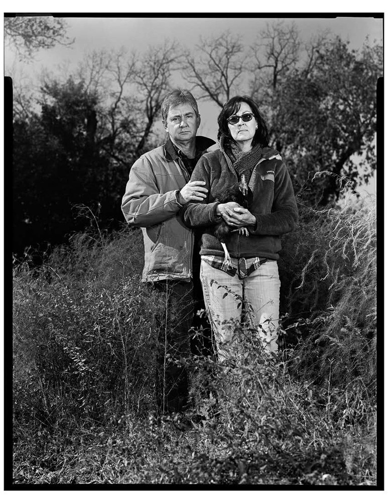 Springdale Farm owners Glenn and Paula Foore, urban farmers, Austin, TX