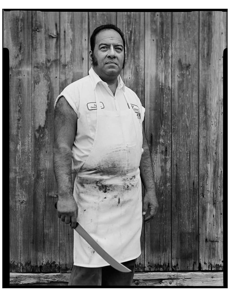 Roy Perez, bbq pitmaster, Kreuz Market, Lockhart, TX