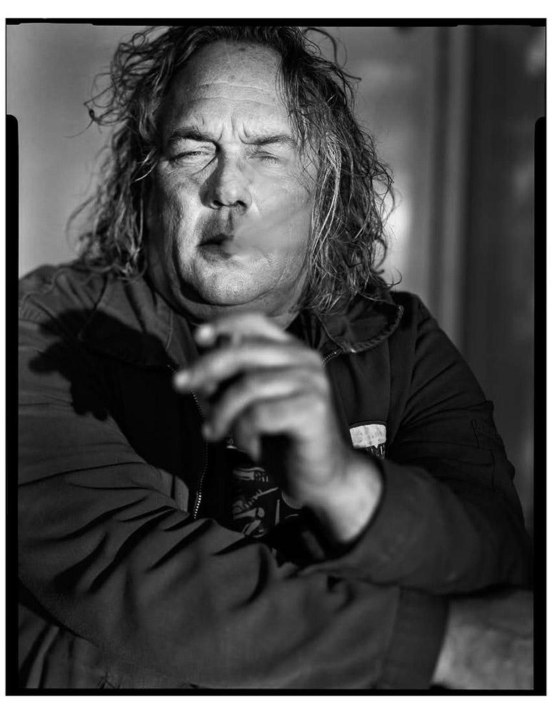 Jeremy Slepakis, motorcycle mechanic, Deathtrap Motorcycles, Austin, TX