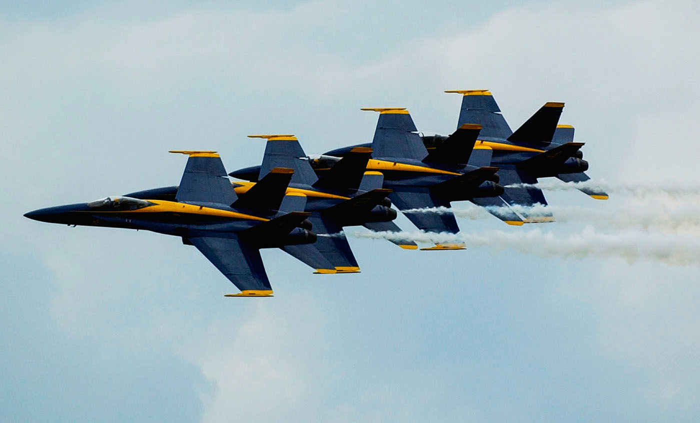 Blue Angels, Willow Grove Naval Air Station