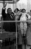 Mayor Wilson Goode and Emmanuel Lewis, Gimbels Parade, Philadelphia, PA