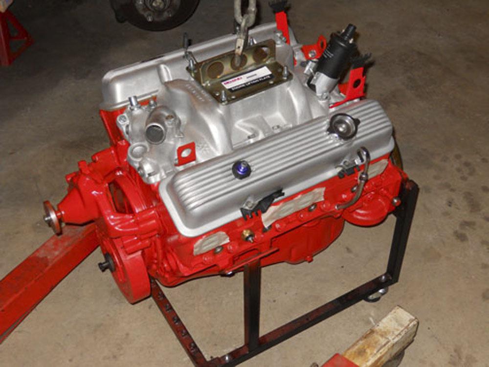 New motor for 69 Z28 X77.