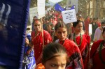 Women of Sanfe BagarMarching in Protest on World AIDS DaySanfe Bagar, Nepal