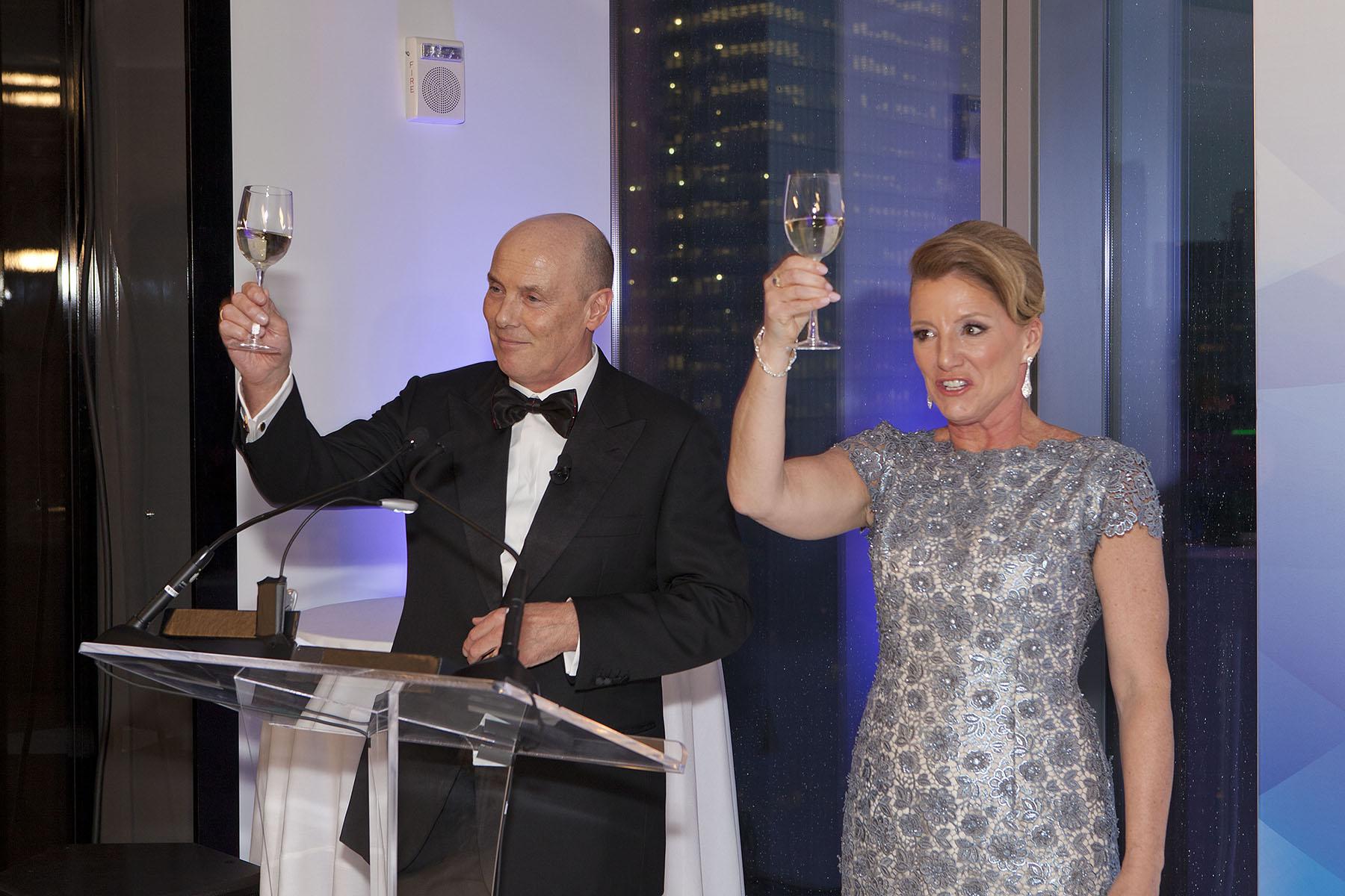 Avon EVP John Higson, CEO Sheri McCoy