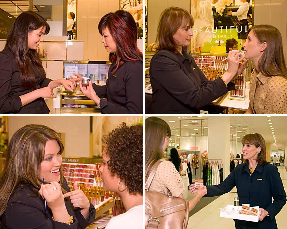 Estee Lauder Sales TrainingBloomingdales, NYC