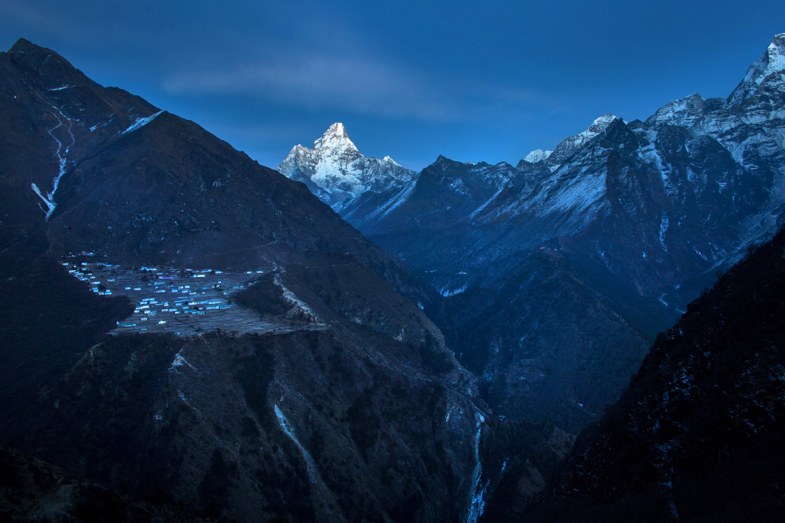 The village of Phortse has more Everest summiters than any other place in the world.  Over 60 people have reached the summit of the mountain from this one town, and nearly every household makes its living working on climbing expeditions.