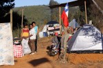 March 8, 2010 - This tent community, on high grounds, was created for families whose homes were destroyed by a tsnami.