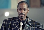 "Hip-hop artist Snoop Dogg reads a poem about Stanley ""Tookie"" Williams during funeral services."