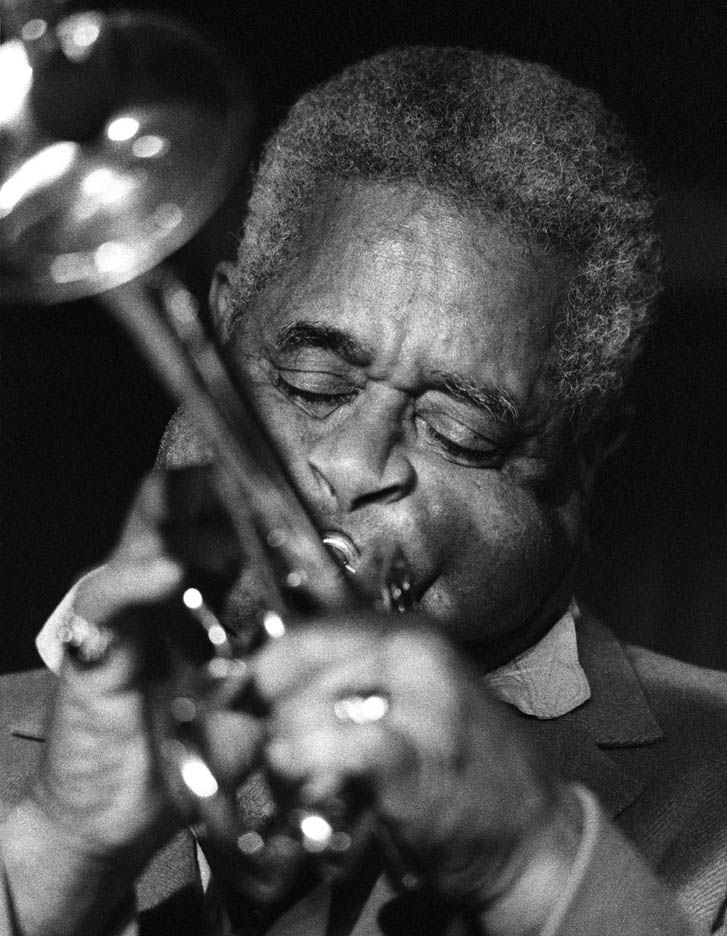 Legendary trumpeter Dizzy Gillespie performs at the Blue Note.