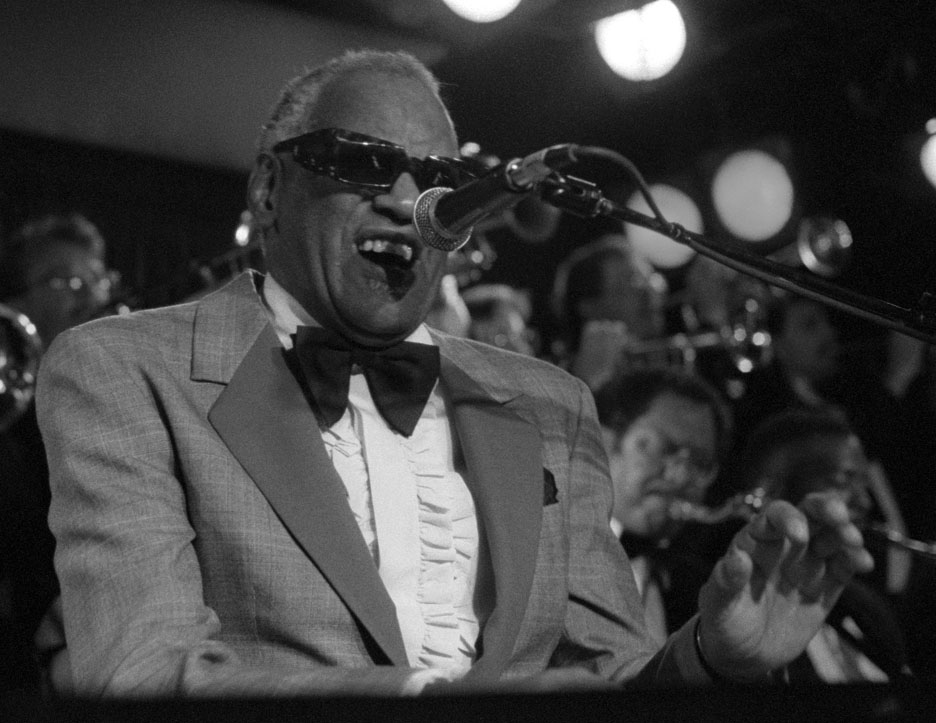 Legendary Rhythm & Blues artist Ray Charles performs at the Blue Note.