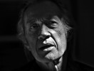 Actor David Carradine responds to a question during an interview at his home, March 10, 2004.