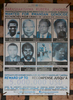 May 18, 2016 - Rwamagana Prison - A current wanted poster offers a cash reward for individuals still wanted for crimes of genocide.