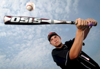 Mike Harrington, a junior from Glens Falls High School, is the Post-Star\'s 2012 baseball player of the year. Harrington is a pitcher and first baseman. He was 6-2 as a pitcher with two saves and a 2.52 ERA. He also hit .487 and with a team-high 33 RBIs and nine doubles. (Jason McKibben - jmckibben@poststar.com)
