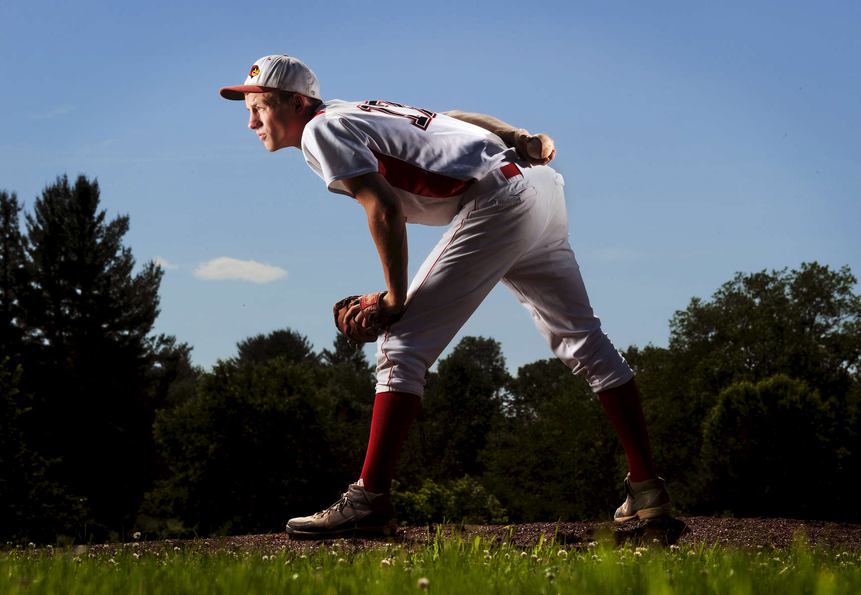 George Lehoisky of Fort Ann has been selected as The Post-Star\'s 2013 Baseball Player of the Year. (Jason McKibben - jmckibben@poststar.com)
