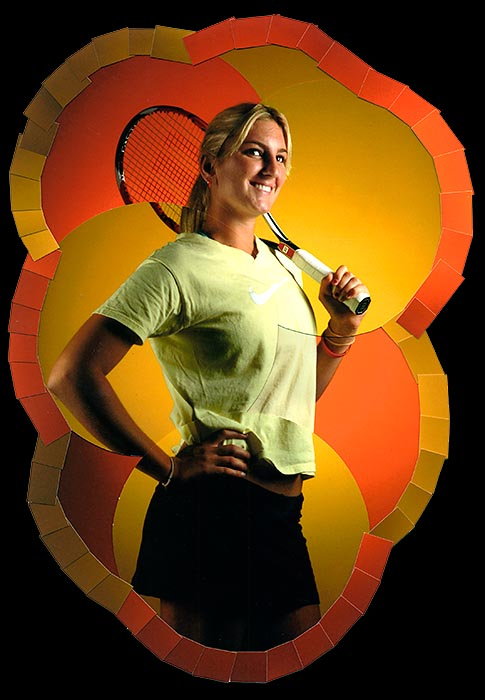 Sarasota Herald-Tribune All Area Girl's Tennis Player of the Year - Bradenton Prep's Carling Seguso.