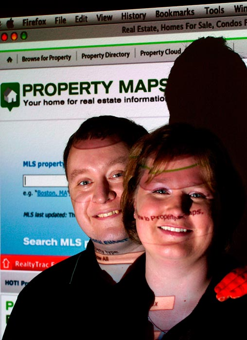 Matt and Heather Beck, founders of PropertyMaps.com.