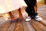 Katie and Justin get married at the Carlouel Yacht Club and Sandpearl in Clearwater Beach.  Photos by Sarasota wedding photogrpaher Chip Litherland/Eleven Weddings Photography.