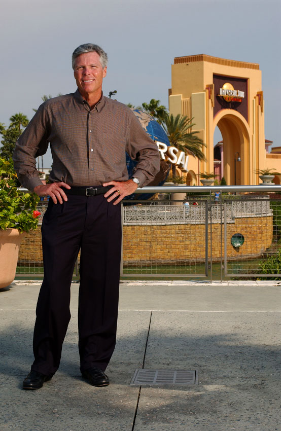Universal Parks and Resorts Chairman and CEO Tom  Williams in Orlando, Florida.