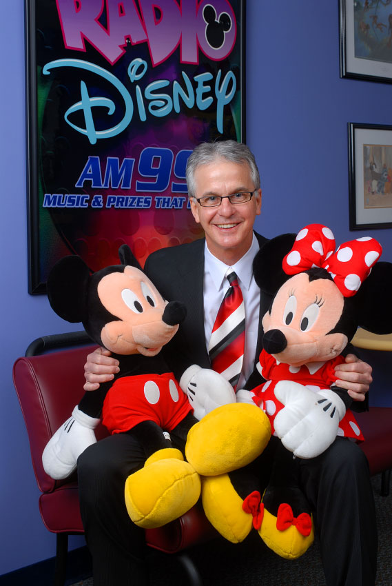 Radio Disney personality Dr. John Smith, photographed at their studios in Celebration, Florida.