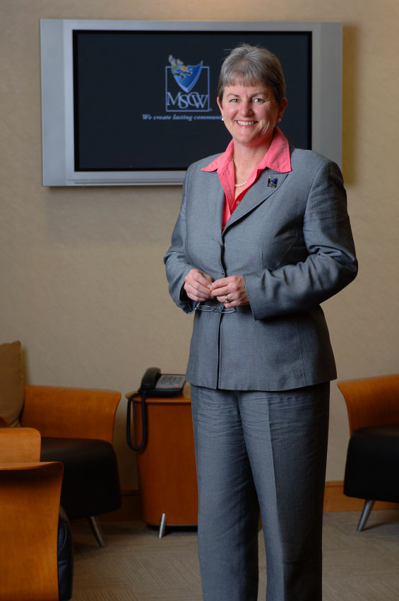 MSCW Executive VP and Corporate Director Carol Conner, photographed in Orlando, Florida.