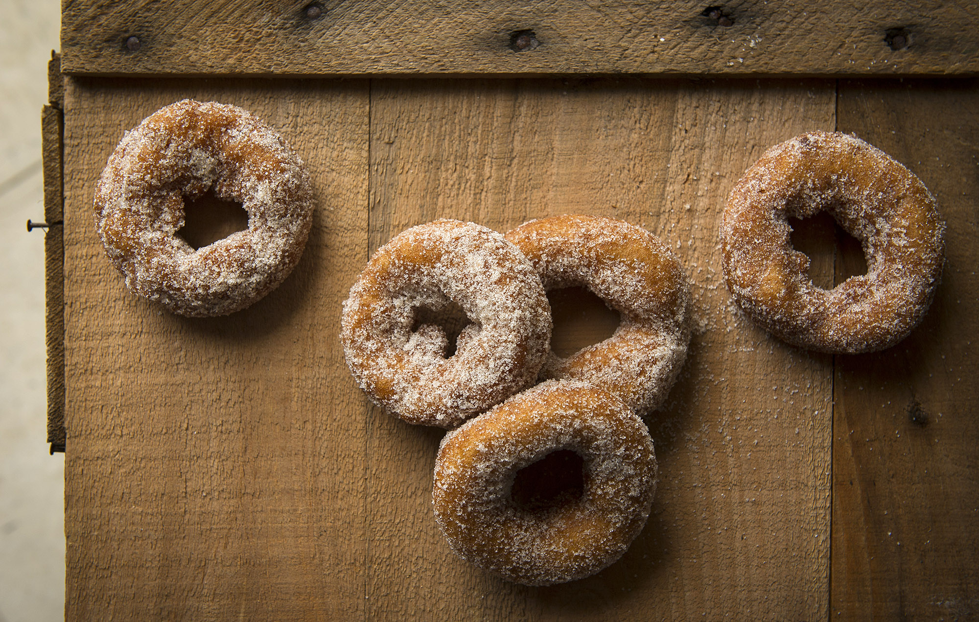 For a feature on NJ Cider Donuts.  Photographed for The New York Times