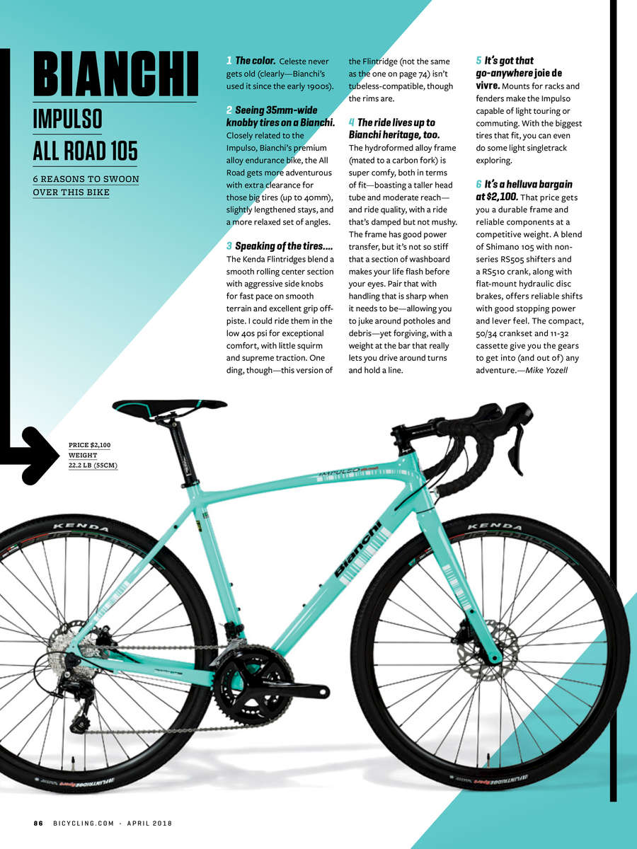 Bicycling Magazine 2018 Er S Guide Matt Rainey Recipient Of The 2001 Pulitzer Prize For Feature Photography