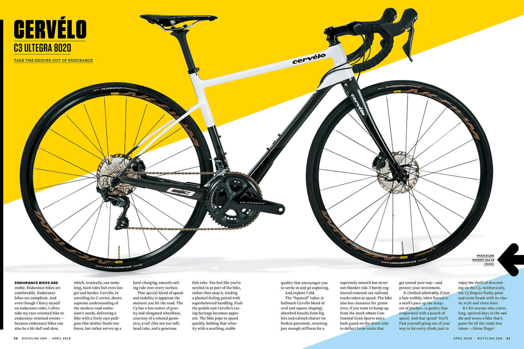 Matt Rainey Overview Tearsheets Bicycling Magazine 2018 Er S Guide