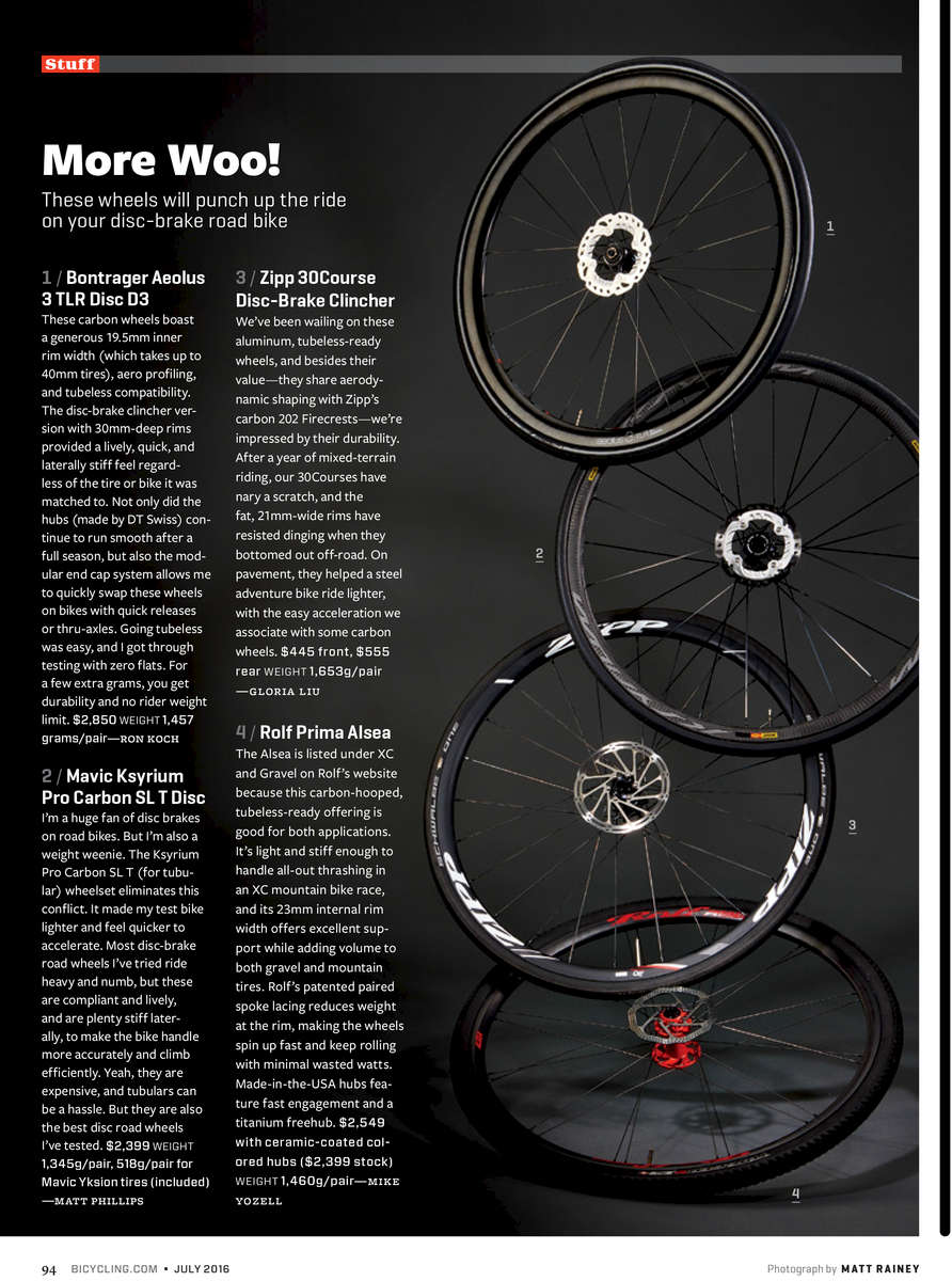 Wheelset Feature