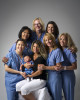 Nurses who assisted during a difficult birth.  Photographed for Saint Peter's University Hospital