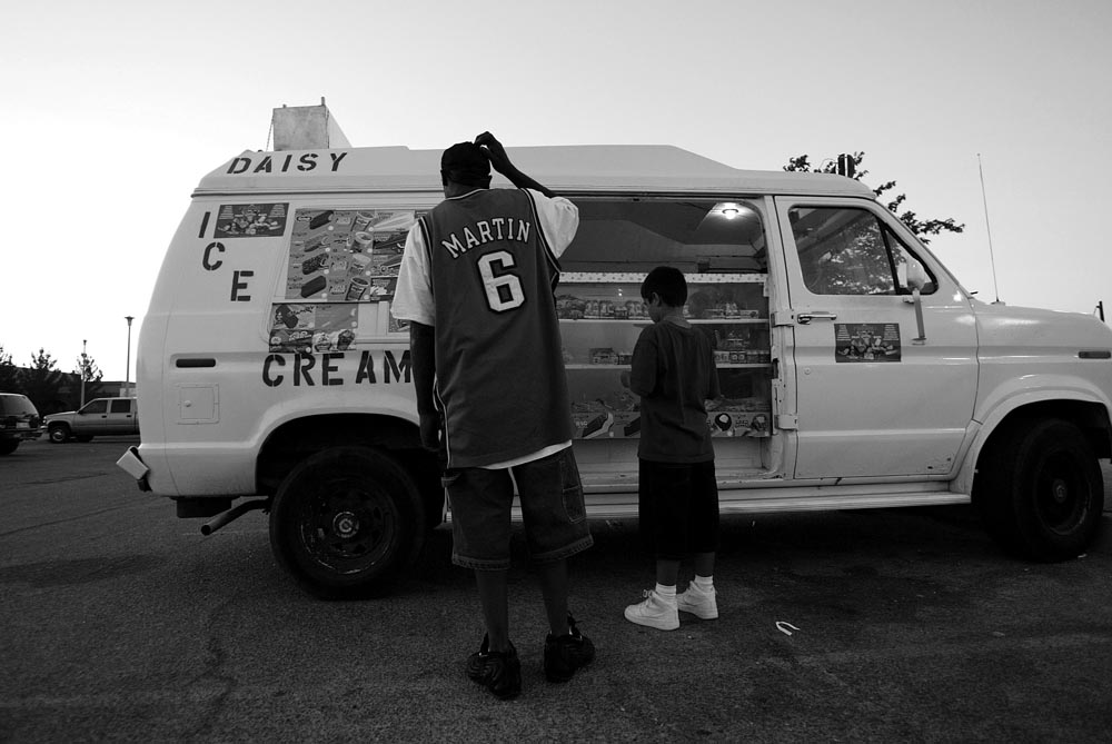 Al Malik orders ice cream from a truck.  {quote}I feel like I can be a kid here...{quote}  In the end,  he cannot live by his aunt's rules and she sends him back to New Jersey.