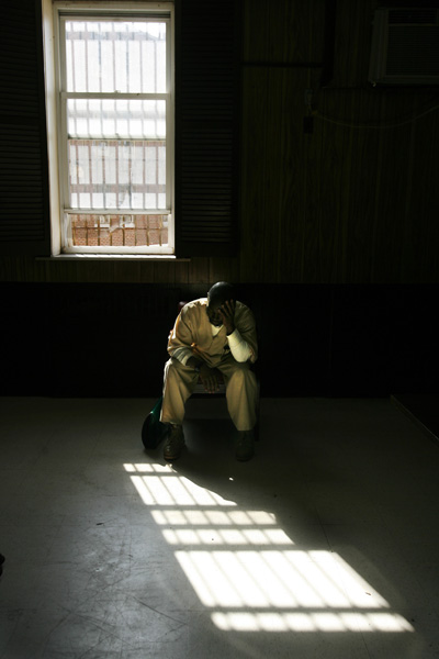 For a feature on inmates serving life sentences.  Photographed for The Star-Ledger
