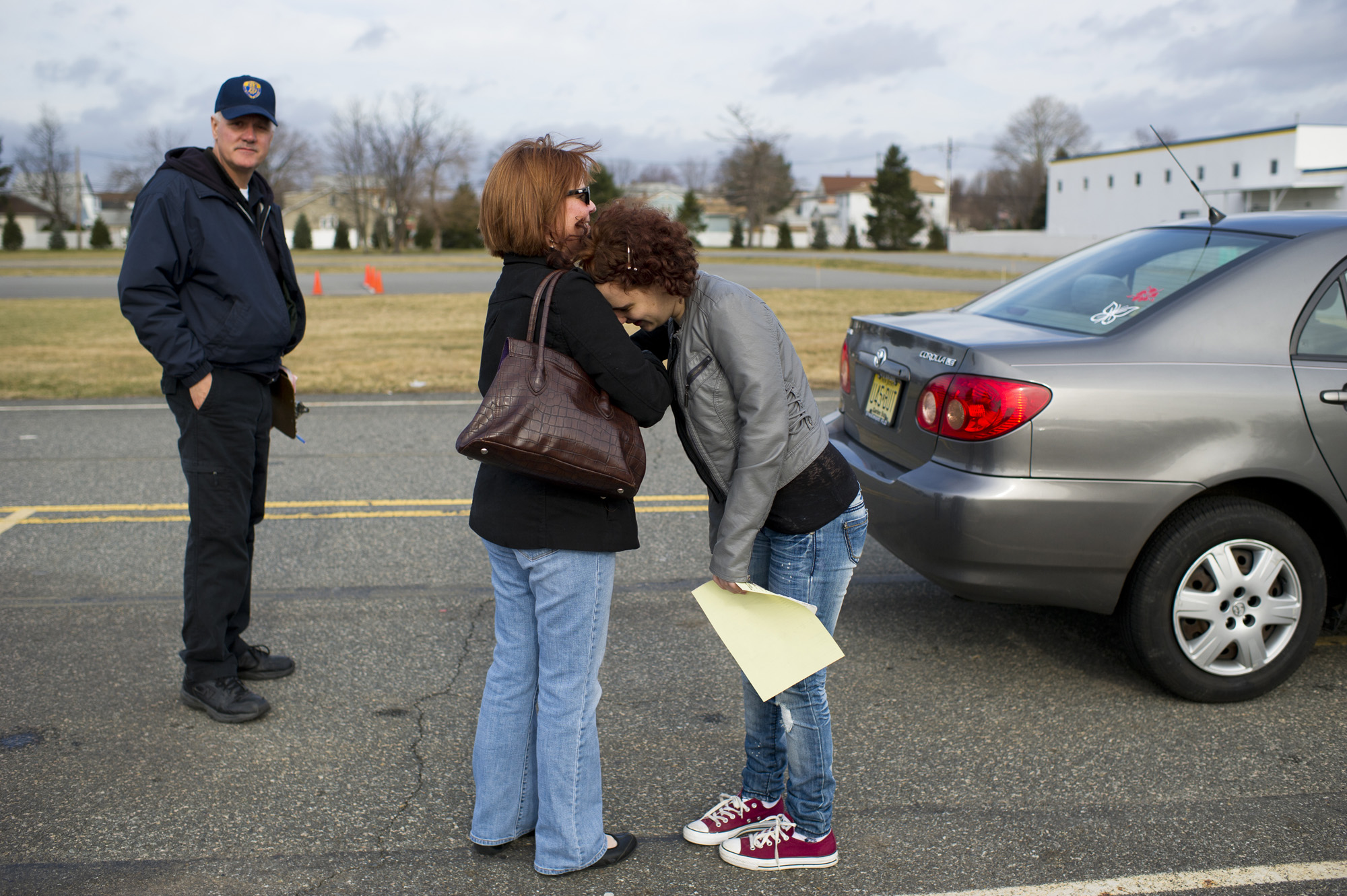 For a feature on teens who fail multiple attempts at their driver's exam.  Photographed for The New York Times
