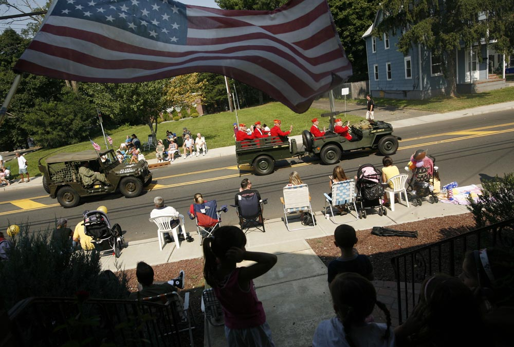 The 50th Annual Labor Day Parade in South Plainfield, NJ.  Photographed for The Star-Ledger