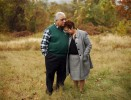 Neil and Diane Santoriello  stand together on {quote}The Hilltop{quote}  , a Boy Scout clearing where their son Neil spent much time as a scout leading younger scouts.  It was Neil's special place. 1st Lt. Neil Santoriello, 24, of Penn Hills, Pa. died 8-13-04 in roadside bomb explosion near his tank outside Khaldiya, Iraq.