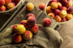 For a feature on New Jersey's Peaches.  Photographed for The New York Times