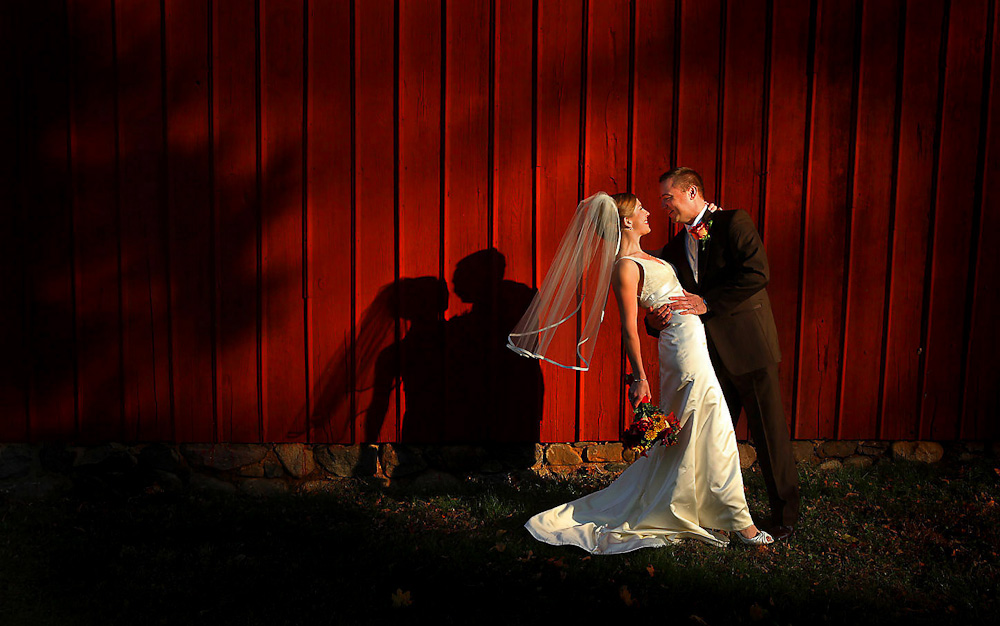 Gorgeous late afternoon light illuminates a bride and groom at the <u>Frelinghuysen Arboretum</u></a> in Morristown, New Jersey.If you are interested in wedding photography or an engagement session at the Frelinghuysen Arboretum, they do require a permit. It's a simple process.