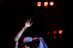 Wiz Khalifa performs at the Nikon Theater at Jones Beach in Wantagh, NY on August 02, 2012.