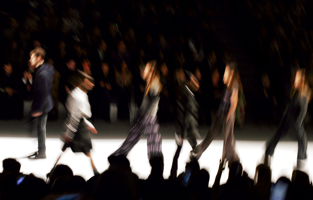 The Richard Chai show, on the first day of the Mercedes-Benz Fashion Week in the Lincoln Center in Manhattan, New York on Thursday, February 09, 2012.(For The New York Times)