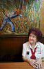 Aida Andreu, a Republican in Miami, FL, poses for a portrait in the restaurant where she works, La Carreta, on March 11, 2016. She says she would like to vote for U.S. Presidential candidate Donald Trump (R-NY) in the state's Tuesday primary because she believes he is capable of changing America for the better. As far as Ted Cruz (R-TX) or Marco Rubio (R-FL), she says she does not believe either to be ready for a presidency, and is not influenced by their Cuban roots. (For Washington Post)
