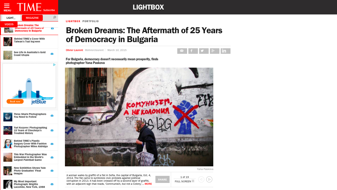 TIME Lightbox feature : http://time.com/3731816/bulgaria-democracy