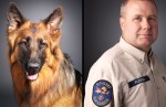 K-9 Search and Rescue team Ryka and David