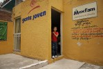 "The Gente Joven Center in San Juan Rio Mexico. The Gente Joven ""young people's"" program is Mexfam's unique attempt to address sexual health service and information needs of young people in Mexico. Using adolescent ""peer"" health promoters, it is a national program that targets youth ages 10 to 25 from urban and rural marginalized areas across the country. In addition to doing formal presentations in schools and recreation centers, peer promoters do active outreach engaging young people in the streets, schools, sports and recreation centers, workplaces and other places where young people usually gather.Through this program, Mexfam hopes to meet Mexican youths' sexual and reproductive education needs while shaping a new youth sexual health culture that considers sexual education and information for adolescents and young people, as well as the corresponding comprehensive youth friendly services, a social obligation."