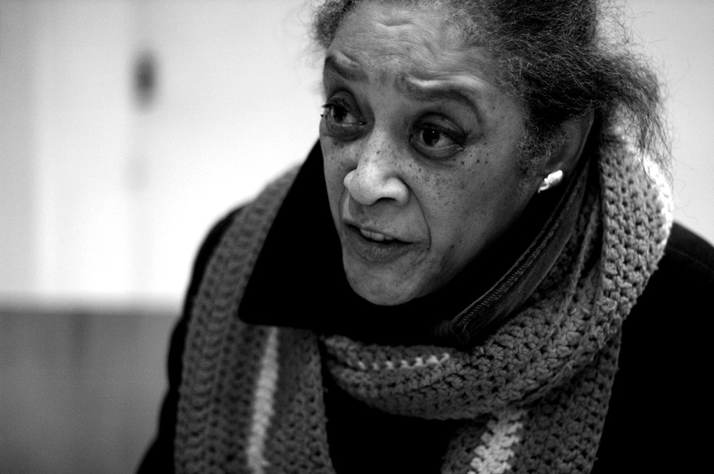 {quote} I say, sometimes I don't even have the vocabulary to express the feeling about what is going on, what we've done there, in Iraq...And the question I ask is, and this applies to me as well: Why are we not lying down in the streets?  Barbara Walker, Grandmother Against the War