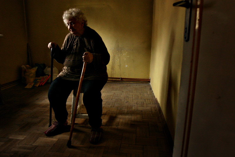 Paraschiva Darniceanu, eviction victim - Bucharest, Romania