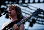 Mike Gordon performs at Rothbury 2008.