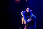 Maroon 5 lead vocalist and rhythm guitarist Adam Levine.