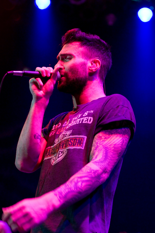 Maroon 5 lead vocalist Adam Levine.